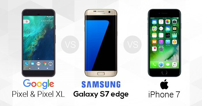 Google-Pixel-vs-Samsung-Galaxy-S7-Edge-vs-iPhone-7-351x185@2x