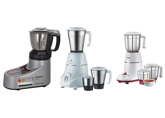 Top 5 Best Mixer Grinders of 2017 in India