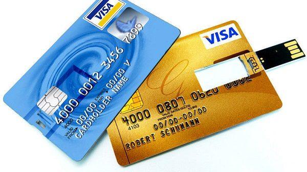 Credit Card Flash Drives
