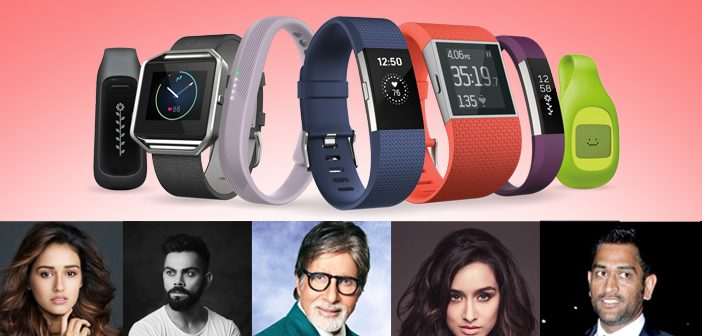 Fitness Bands your Favourite Celebrities Flaunt