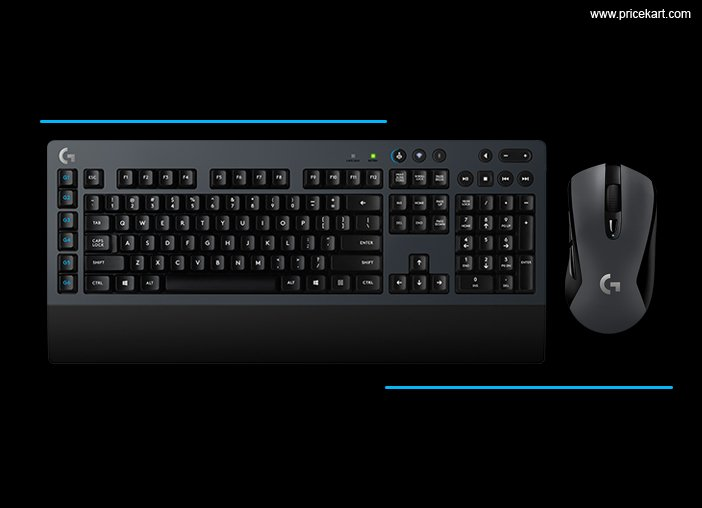 Logitech G603 WL Gaming Mouse, G613 Mechanical Keyboard Launched