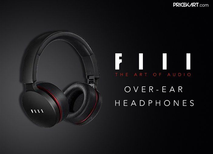 FIIL Wireless Over-the-Ear Headphones Launched in India