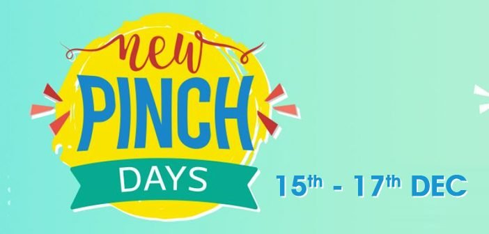 Glimpse of the Upcoming Flipkart New Pinch Days Sale