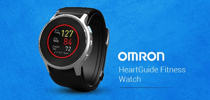 The Omron HeartGuide Fitness Watch Can measure Your Blood Pressure