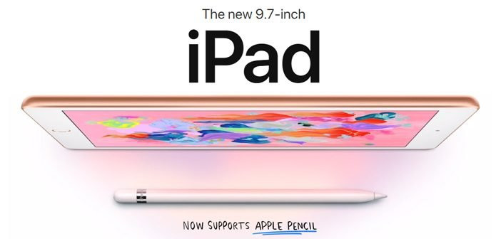 Apple Launched New iPad (2018) with Pencil Support: Price & Specs