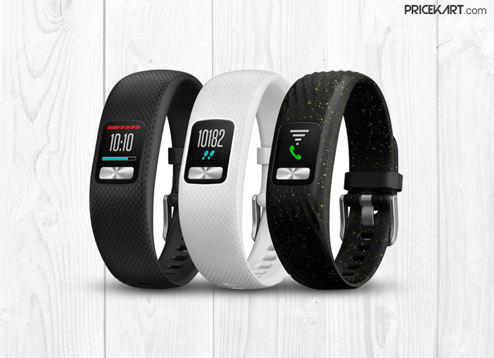 The Garmin Vivofit 4 Activity Tracker Lasts for a Year on a Single Charge