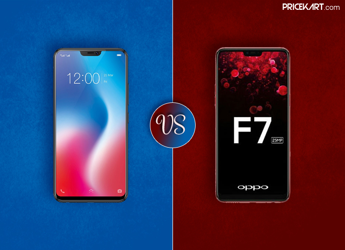 Vivo V9 Vs Oppo F7: Who Will Win the Battle of the Best Selfie Smartphone?