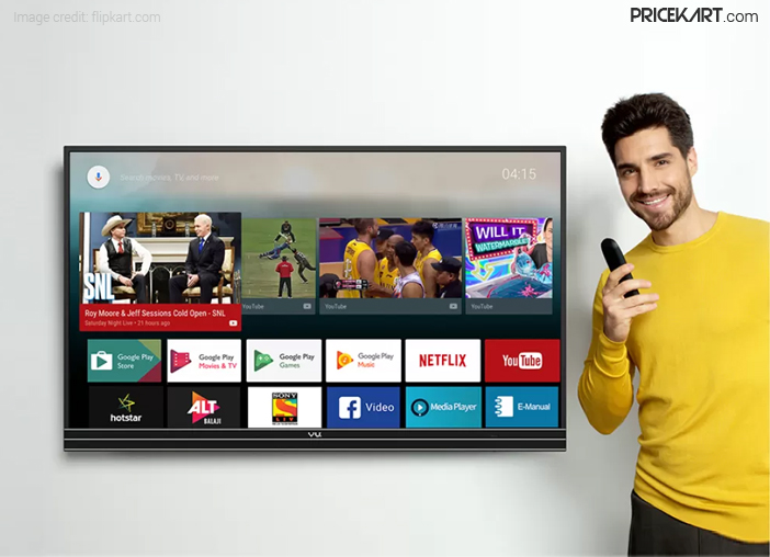 Vu Official Android TV Launched in India, Sports 4K HDR Features