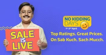 Flipkart No Kidding Days Sale: Top Deals and Offers