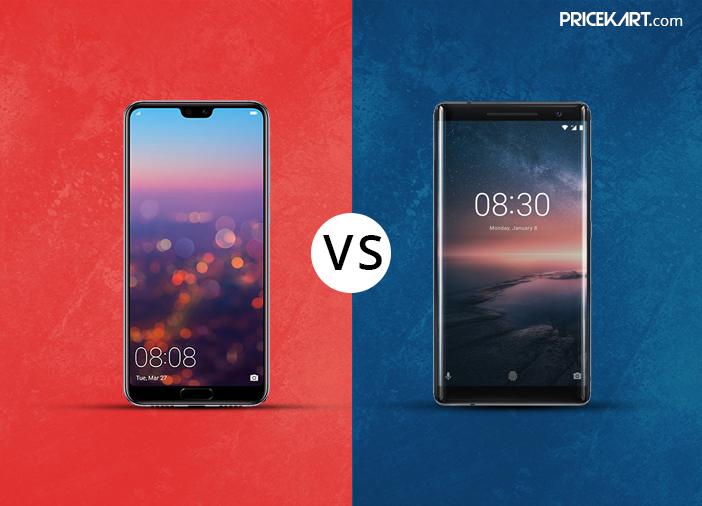Huawei P20 Pro Vs Nokia 8 Sirocco: Who is at the Front Foot?