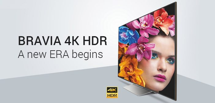 Sony Announced its X9000F 4K HDR Smart TV Series in India