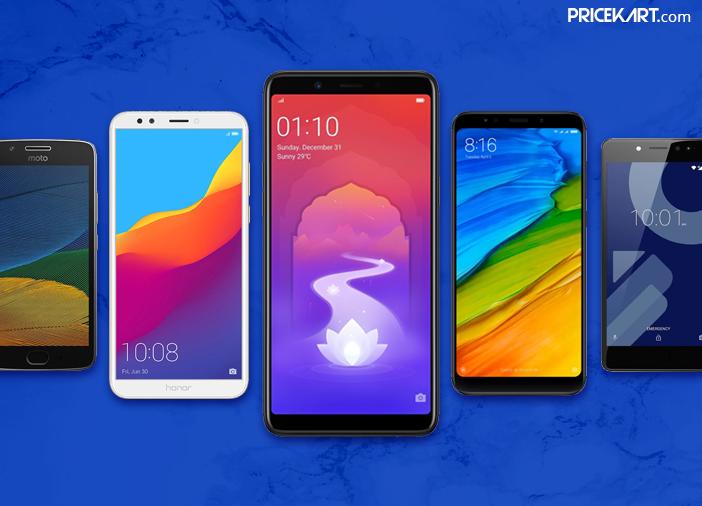 Smartphones Under 10000 to Buy in India in 2018