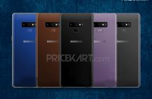 Samsung Galaxy Note 9 Horizontal Cameras Leak