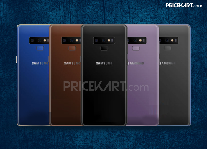 Samsung Galaxy Note 9 Horizontal Cameras Leak