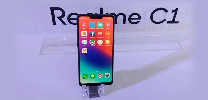 Entry-Level Realme C1 Smartphone Launched in India