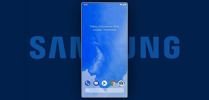Upcoming Samsung Smartphone to Sport Under Display Camera & Sensors