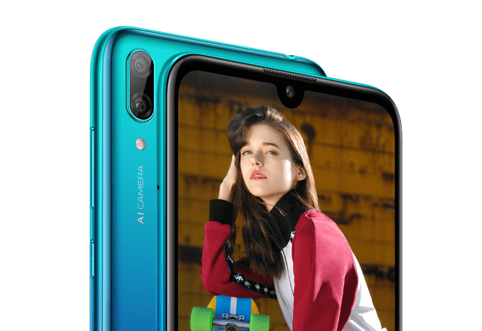 Huawei Y7 2019 First Images Surface Online With Waterdrop Notch