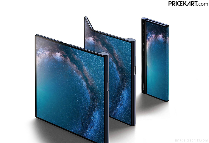 Huawei Mate X Foldable Phone to Compete with Samsung Galaxy Fold