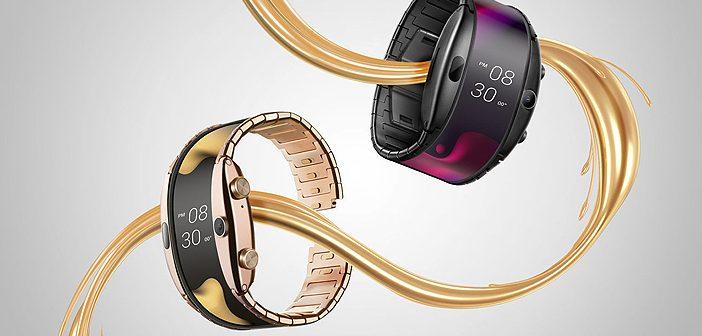 Nubai Alpha is a Flexible Smartphone Designed to Wear on the Wrist