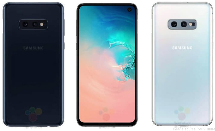 Samsung Galaxy S10e Press Renders Reveal Design & Features
