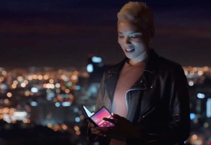 Samsung Foldable Smartphone Official Futuristic Video Appears Online