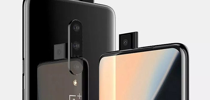 OnePlus 7 Leaked Images Show Off the Pop-Up Camera & Design