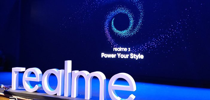 Take a Look at the Realme 3 Smartphone: Live Launch Updates