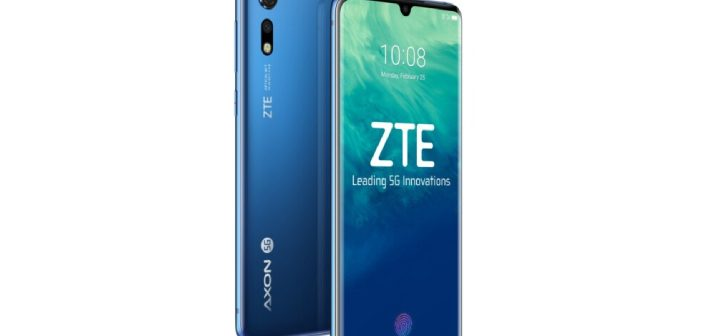Images of ZTE Axon 10 Pro 5G Smartphone Appear Online After Launch