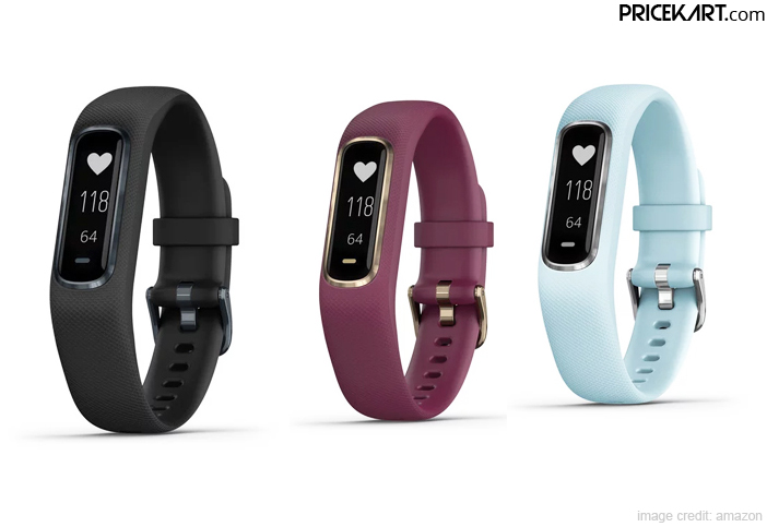 Garmin Vivosmart 4 Fitness Band Debuts in India with a Touchscreen Display