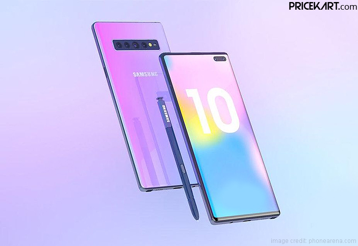 Samsung Galaxy Note 10e to be a Smaller Variant of the Galaxy Note 10