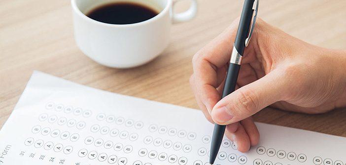 Conducting aptitude tests to determine intelligence levels