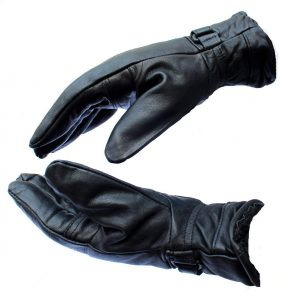 AlexVyan Special Black Leather Gloves