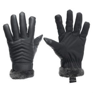 Generic Thermal Leather Touch Screen Gloves