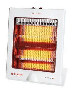 Singer Quartz Heat Glow Plus 800-Watt Room Heater