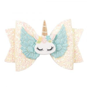 Arendelle Colourful Shiny Sequin Bow