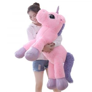 Besties Big Size Funny Unicorn Stuffed Animal Plush Toy