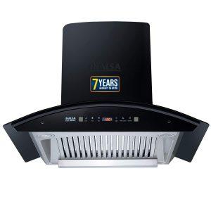 Inalsa 60 cm 1250 m³-hr Motion Sensor, Auto-Clean Kitchen Chimney
