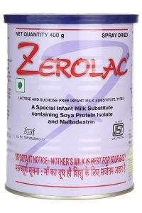 RAPTAKOS Zerolac Powder 200gm Milk Substitute