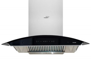 V-Guard A20 90cm Kitchen Chimney with 1200-m3-hr Suction