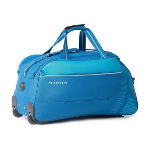 Aristocrat Dale Polyester 51.6 Cm Blue Travel Duffle