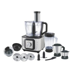 Inalsa Food Processor INOX with 12 Accessories