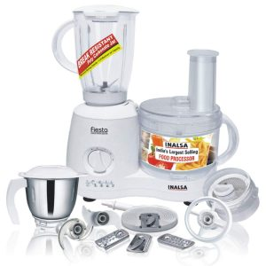 Inalsa Food Processor with 8 Accessories