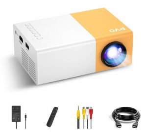PVO Portable Projector Cartoon Mini Projector