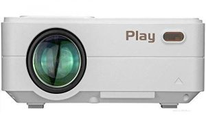 Play Full HD LED Latest Projector for Home Office Entertainment
