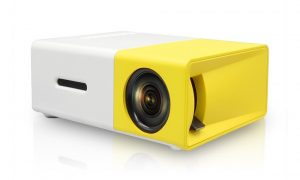 YG300 Mini Portable High-Resolution LED Projector